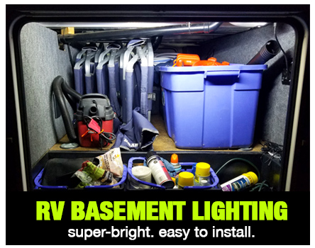 RV Basement Lighting