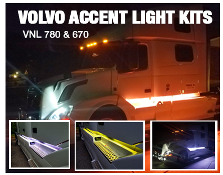Volvo VNL 780 and 760 Accent Lighting