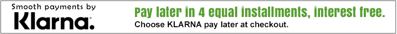Pay Later in 4 Equal Installments, Interest Free!