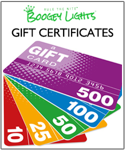 Boogey Lights Gift Certificates
