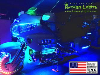 Boogey Lights® Gold Wing LED Light Kits