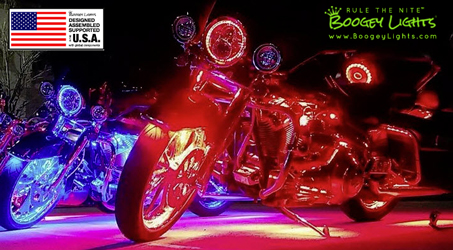 Boogey Lights LED Light Kits are Designed, Assembled and Supported in the USA